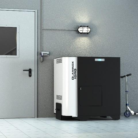 Cazan peleţi Termoboiler Omnia  Compact 23 kW Matic